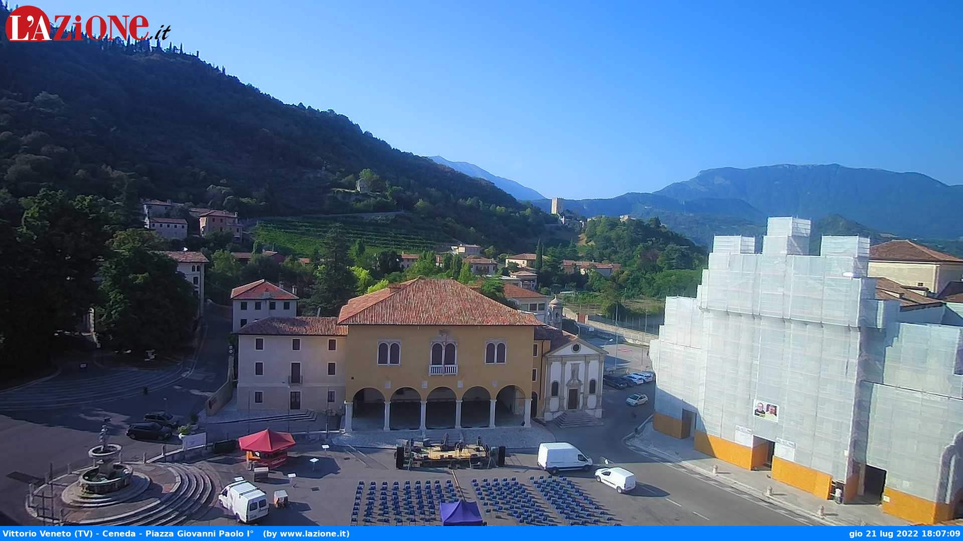 Webcam a Vittorio Veneto (TV)